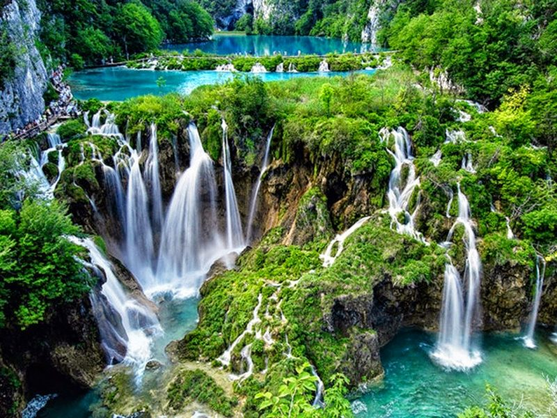 Plitvice Lakes National Park Balkans